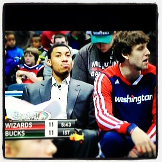 What if Otto Porter makes it back to the court and just starts bangin' on fools and raining 3s? Just what if...