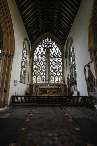 Chancel of Dorchester Abbey