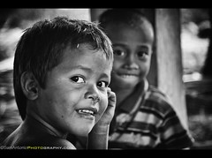 poverty camera travel friends portrait blackandwhite... (Photo: Sam Antonio Photography on Flickr)