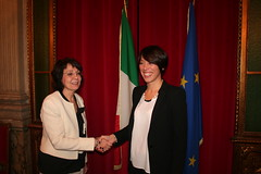 5.12.13 Incontro con Commissario europeo Damanaki