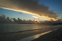 Sunset (S_Crews) Tags: ocean sunset clouds jamaica manateebay hellshirehills