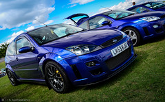 focus RS at silverstone (D - 15 photography) Tags: uk blue classic ford team focus silverstone tuning rs dynamics mk1 fordfair