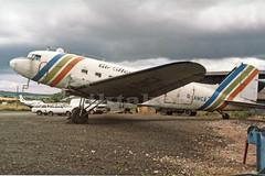 Dakota at Exeter Airport. (piktaker) Tags: devon douglas propellor airatlantique exeterairport pistonengine gamca dakota4