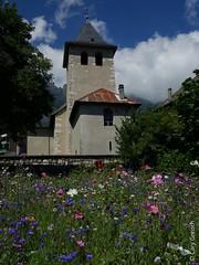 L'église des Gaudes (Saint Hilaire du Touvet) (2013-08-10 -06) (Cary Greisch) Tags: france fleur chartreuse église fra isère sainthilairedutouvet carygreisch lesgaudes
