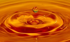 Drop.... (+Pattycake+) Tags: macro water closeup canon droplets pattycake cropped waterdrops simple plain minimalist 2014 canoneos70d eos70d