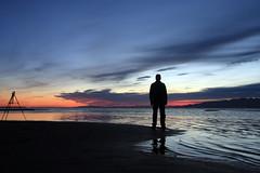 el trípode (Color-de-la-vida) Tags: sunset deltadelebre deltadelebro badiadelsafacs