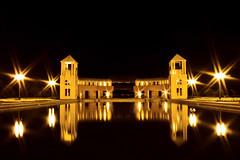 Parque Tangu (cassijones.) Tags: park longexposure parque brazil reflection water paran gua brasil night lights curitiba getty reflexo tangu cassijones cassijonescom cassianorosario