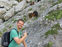 Tijs ontdekt geit!