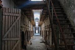 Prison Hall (rakkasan69) Tags: rotting hall state decay tony spooky prison abandon jail scarey penn visual babcock eastern perceptions