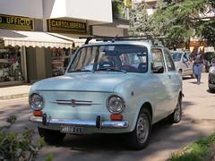 850 (Edge of Europe) Tags: auto italy classic car italia fiat macchina calabria itali cosenza classico fiat850 rende