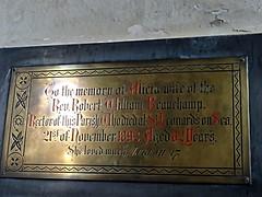 Norfolk, Wickmere - She loved much (jmc4 - Church Explorer) Tags: church memorial norfolk beauchamp wickmere