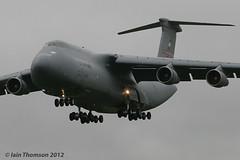 C-5B Galaxy (iainthomson84) Tags: tattoo force aircraft air royal aeroplane airshow international 2012 fairford riat