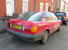 1990 Audi 80 GL (Spottedlaurel) Tags: audi 80