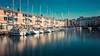 sailing ships (hannes cmarits) Tags: houses italy boat ship harbour yacht grado sailingboats fishingship willage friauljulischvenetien