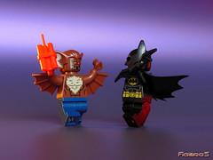 LEGO BATMAN vs MAN-BAT 2/9 (COLLECTOR FIGURES) Tags: lego batman vs manbat