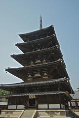The five-story pagoda (tez-guitar) Tags: heritage japan temple pentax wide sigma architect nara pentaxart