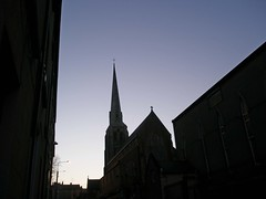 By Dawn's early light (tezzer57) Tags: blue ireland sky church dawn spire wexford