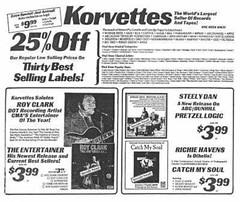 Korvettes Dept store ad  1970s  albany ny  (Northway  Mall) (albany group archive) Tags: korvettes dept store ad 1970s albany ny northway mall oldalbany history