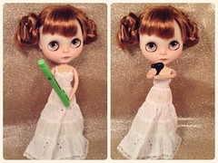 BaD May- Star Wars (RoxyPaige) Tags: light white silly cute shop star gun dolls with dress you body lace may phoebe buns maybe saber be blythe ward custom fourth licca chantilly