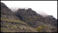 Peaks (little_frank) Tags: travel wild mountain nature beautiful beauty up rock vertical misty wall wow wonderful giant spectacular wonder moss fantastic ancient scenery europe place natural great north dream foggy dramatic rocky peaceful peak cliffs erosion adventure formation mount where fantasy stunning huge dreamy nordic rough geology wilderness upright saga eternity incredible towards faroeislands slope impressive myth imposing steep middleearth eternal verticality unspoiled faroer primordial froyar geologic frerne littlefrank foroyar froerne frern boroy frer imponence untameable bordoy marcofranchino