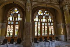 Administration Waiting Room (Glenn Shoemake) Tags: barcelona hospitalsantpau canonef1635f28lii