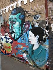 Fitzroy Mural by Gent & Kiara Thomas (wiredforlego) Tags: streetart graffiti mural au fitzroy australia melbourne mel urbanart gent kiarathomas