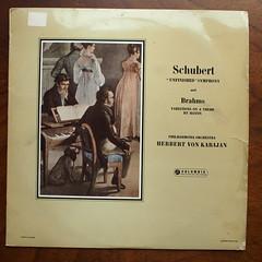 "Schubert - Symphony No.9 ""Unfinished"" & Brahms - Variation on Haydn Theme, Philharmonia Orch., Karajan, Columbia 33CX 1349 (Piano Piano!) Tags: vinyl lp record classical disc platte gramophone karajan classique klassiek plaat klassik langspeelplaat langspielplatte philharmoniaorch schubertsymphonyno9unfinishedbrahmsvariationonhaydntheme columbia33cx1349 recordalbumdisclpvinylvynil12inch coverarthoeshulle12inch discdisquerecordalbumlplangspeelplaatgramophoneschallplattevynilvinyl"