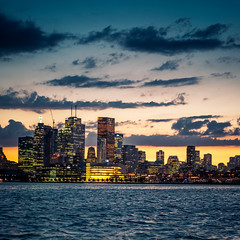 Right Place Wrong Time (pauses) Tags: sunset toronto ontario canada water skyline clouds skyscraper docks evening cozy waves dusk illuminated thedocks lakeontario bustle condominium goldenhour 2014 polsonpier buildingexterior