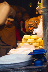 Delhi spice market (BDphoto1) Tags: flowers people food india color shopping market indian traditional working streetphotography spices photograph editorial ethnic selling cultural porters buying laborers vendors