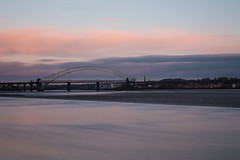 Runcorn Bridge (juliereynoldsphotography) Tags: sunset liverpool runcorn rivermersey runcornbridge pickerings juliereynolds juliereynoldsphotographycouk