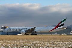 Emirates Airline B77W. A6-ECN. EK90. (Themarcogoon49) Tags: airport geneva aviation emirates boeing planespotting b777 gva avgeek b77w