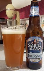 Samuel Adams Cold Snap (Pak T) Tags: beer boston bottle drink massachusetts beverage samsung alcohol tmobile samueladams app beerporn bostonbeer coldsnap untappd samsunggalaxys2 samsunggalaxysii