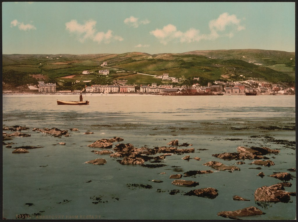 From Eustany, Aberdovey, Wales-LCCN2001703401