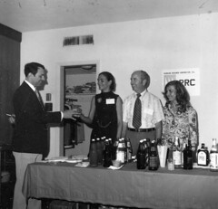 "Pioneers Spring Meeting 1975-PRC SUITE Dennis Madl, Alyce Earnhart, Paul Butler, Sue Reis <a style=""margin-left:10px; font-size:0.8em;"" href=""http://www.flickr.com/photos/130192077@N04/16409901701/"" target=""_blank"">@flickr</a>"