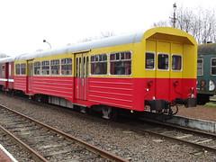 Kolenspoor - ex-NMBS railcarriage type R. (Franky De Witte - Ferroequinologist) Tags: de eisenbahn railway estrada chemin fer spoorwegen ferrocarril ferro ferrovia