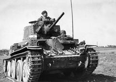 Yugoslavian Panzerkampfwagen 38(t) light tank, 1945.