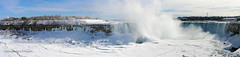 The Niagara Falls (www.eastsussexphotography.com) Tags: blue winter sky ontario canada cold fall ice water frozen panoramic niagara freeze horseshoe 2015