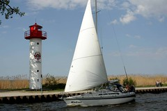 Seebad ckermnde IMG_0400 (nb-hjwmpa) Tags: leuchtturm segelboot seebad ckermnde ecker