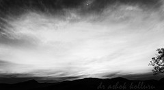 Moonrise over Barezolla (dr a k) Tags: blackandwhite moonscape araku visakhapatnam topf25favs anantagiri arakuvalley vizagandhrapradeshindianature easternghat barejolla barezolla