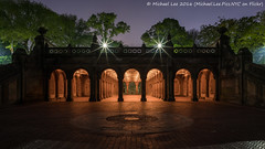 Bethesda Terrace and Arcade (DSC06014) (Michael.Lee.Pics.NYC) Tags: longexposure newyork night centralpark sony arcade bethesdaterrace a7rm2 zeissloxia21mmf28