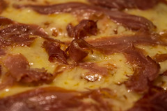 Pizza! (joacim_771) Tags: food texture cheese tasty ham pizza delicious homemade messy melted serrano