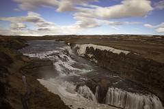Icelandic afternoons (aerojad) Tags: longexposure travel vacation nature river landscape waterfall iceland canyon wanderlust gullfoss goldencircle hvt daytimelongexposure iceland2016