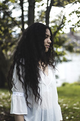 IMG_9659 (aishejonelle) Tags: trees flower tree nature girl female hair outdoors long child outdoor portait fresh curly preraphaelite