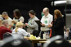 Ballot box verification (Coventry City Council) Tags: election coventry ballotboxes electioncount le2016
