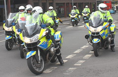 Police Motorbikes_New Union Street_Coventry_May16 (Ian Halsey) Tags: imagesgooglecom westmidlandspolice policemotorbike flickriver policemotorbikes exif:model=canoneos7d flickr:user=ianhalsey copyright:owner=ianhalsey location:coventry=newunionstreet