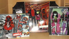 New dolls - Monster High Comic Con Webarella, Manny/Iris and Scarah/Hoodude Voodoo (meike__1995) Tags: new iris monster high comic dolls manny con mattel voodoo screams 2016 scarah hoodude webarella