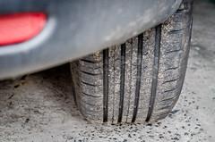 Tired! (BGDL) Tags: car wheel garage vehicles tyre week43 niftyfifty 7daysofshooting texturetuesday nikond7000 bgdl afsnikkor50mm118g lightroomcc