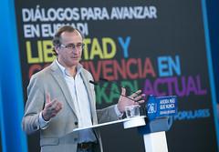 Alfonso Alonso durante su intervencin (Partido Popular) Tags: libertad durango rajoy eta pp pasvasco