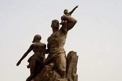 2016 005 Dakar34 (ngari.norway) Tags: africa travel sculpture photos senegal dakar northkorea ngari theafricanrenaissancemonument