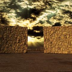(Carlos D' Araya) Tags: chile santiago sunset sky sculpture sun clouds san photographer photograph cristobal anfiteatro lascondes santiagoadicto
